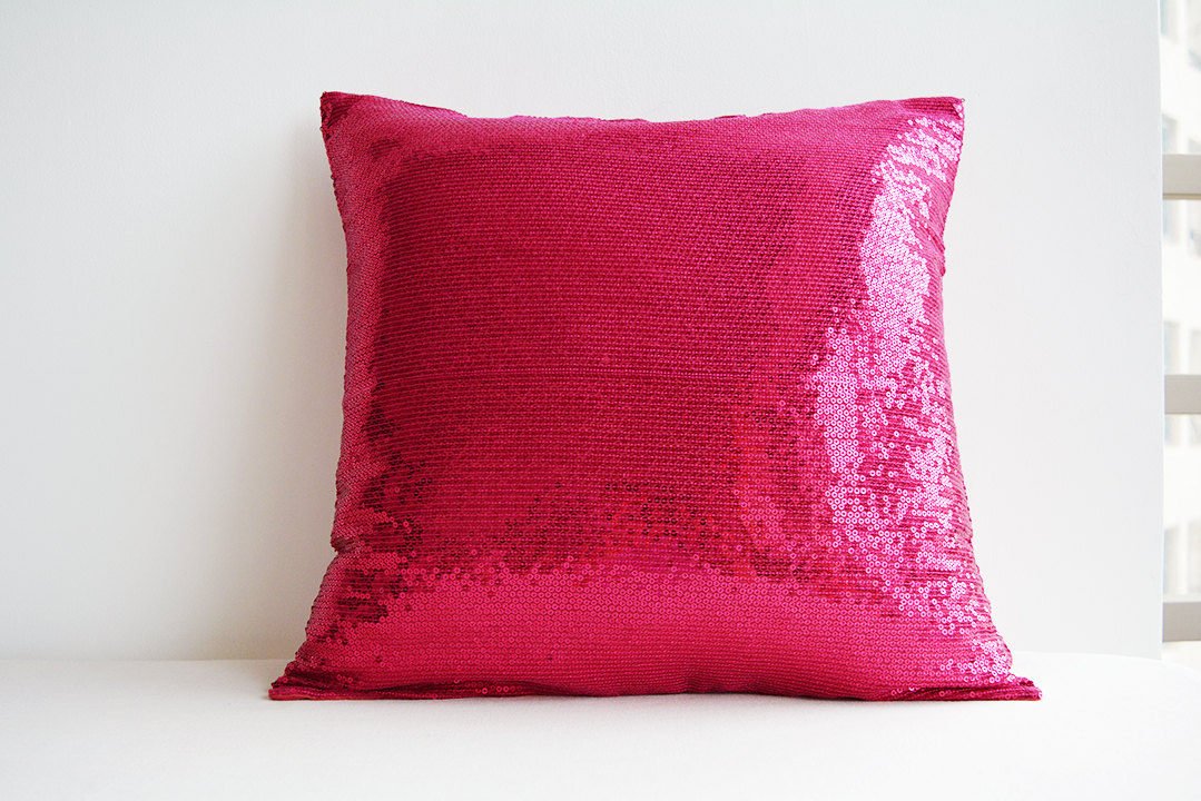 Image of: Baby Pink Throw Pillows