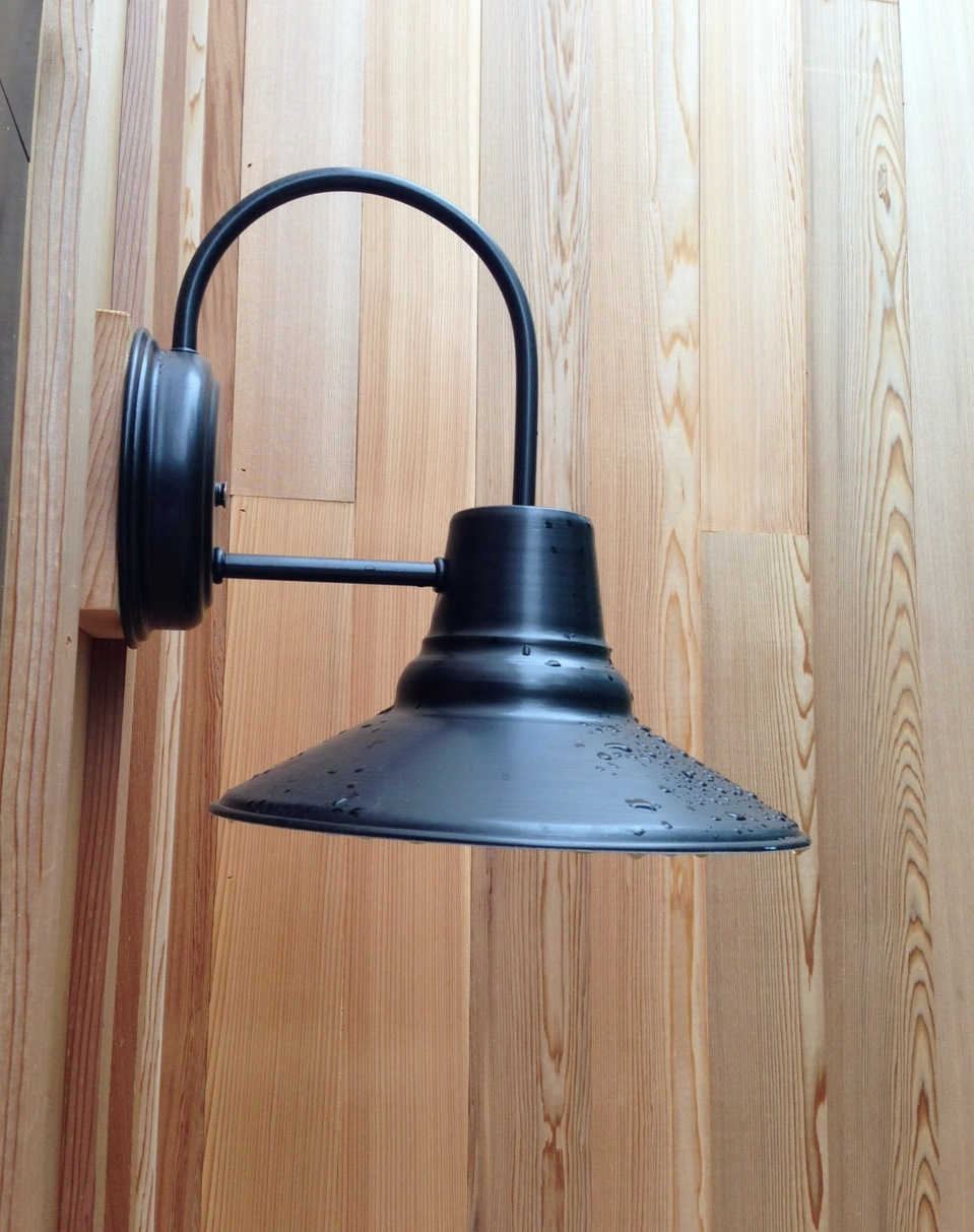 Image of: Barn Light Sconce Ideas