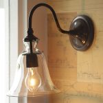 Barn Sconce Glass