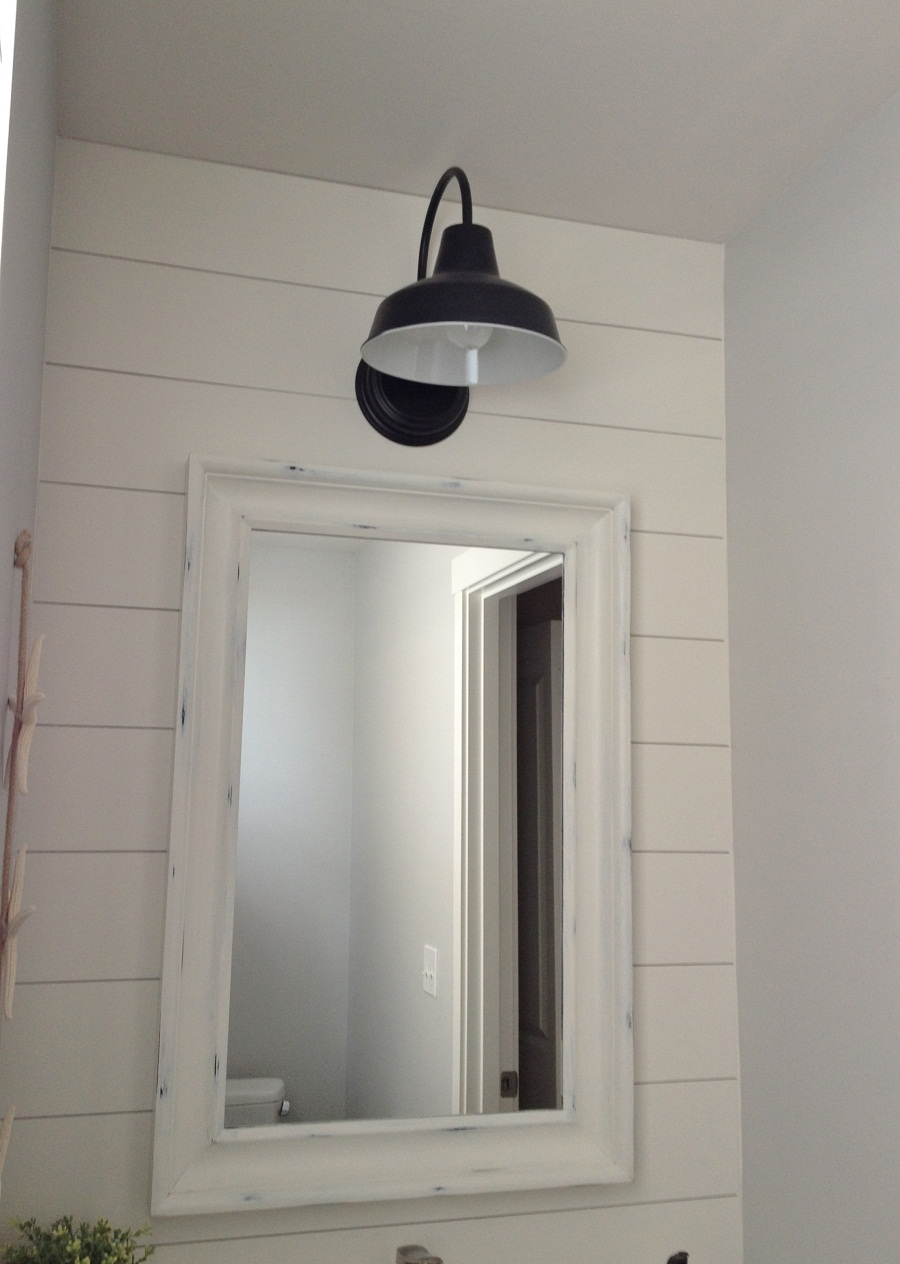Image of: Barn Sconce Vanity