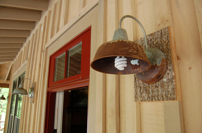 Image of: Barn Sconce