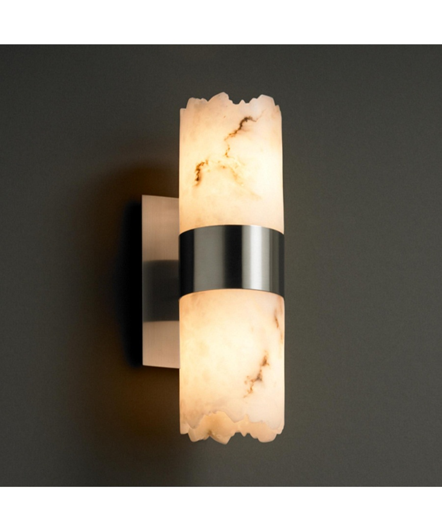 Image of: Bathroom Sconce Height