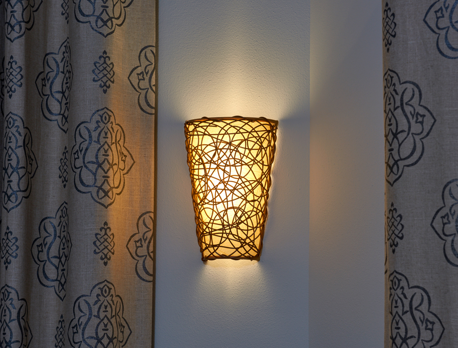 Image of: Battery Operated Sconce Lights Decor