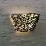 Battery Operated Wall Sconce with Flameless Candle