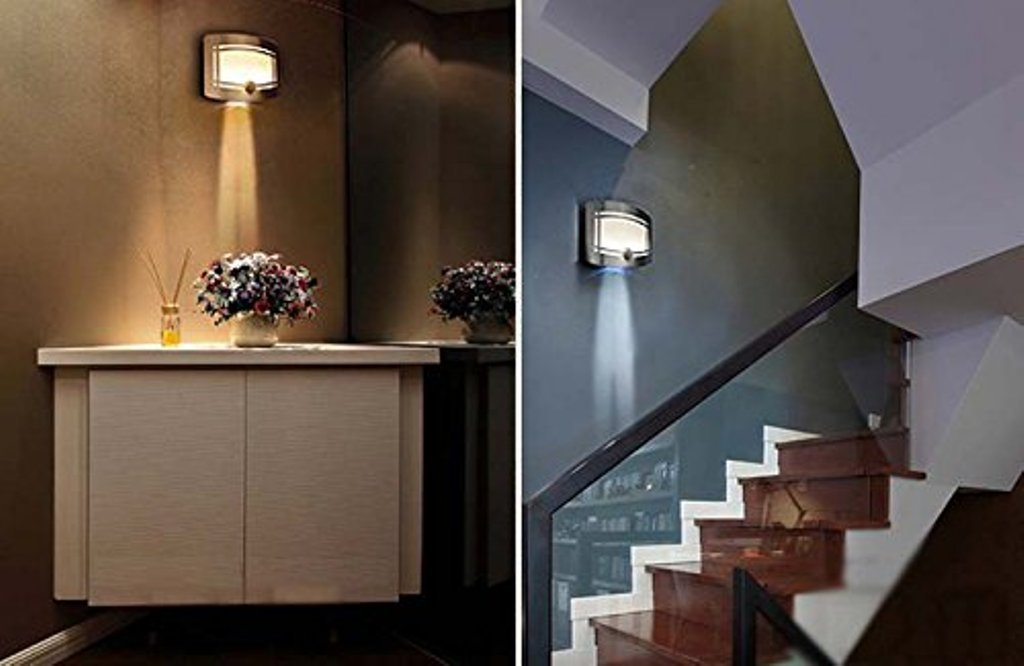 Image of: Battery Operated Wall Sconces with Remote Style