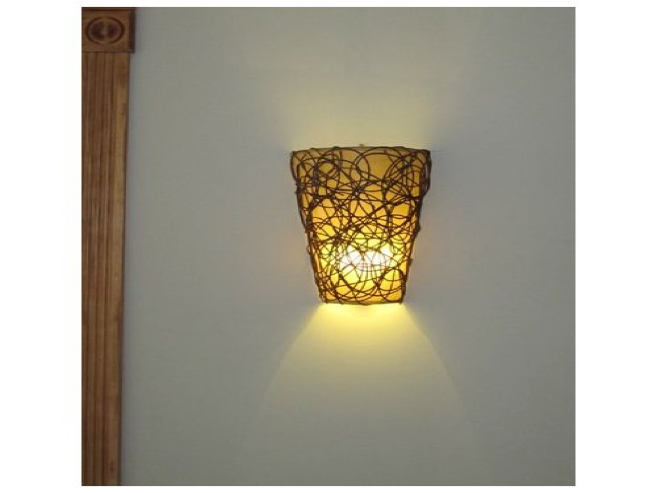 Image of: Battery Sconces Home