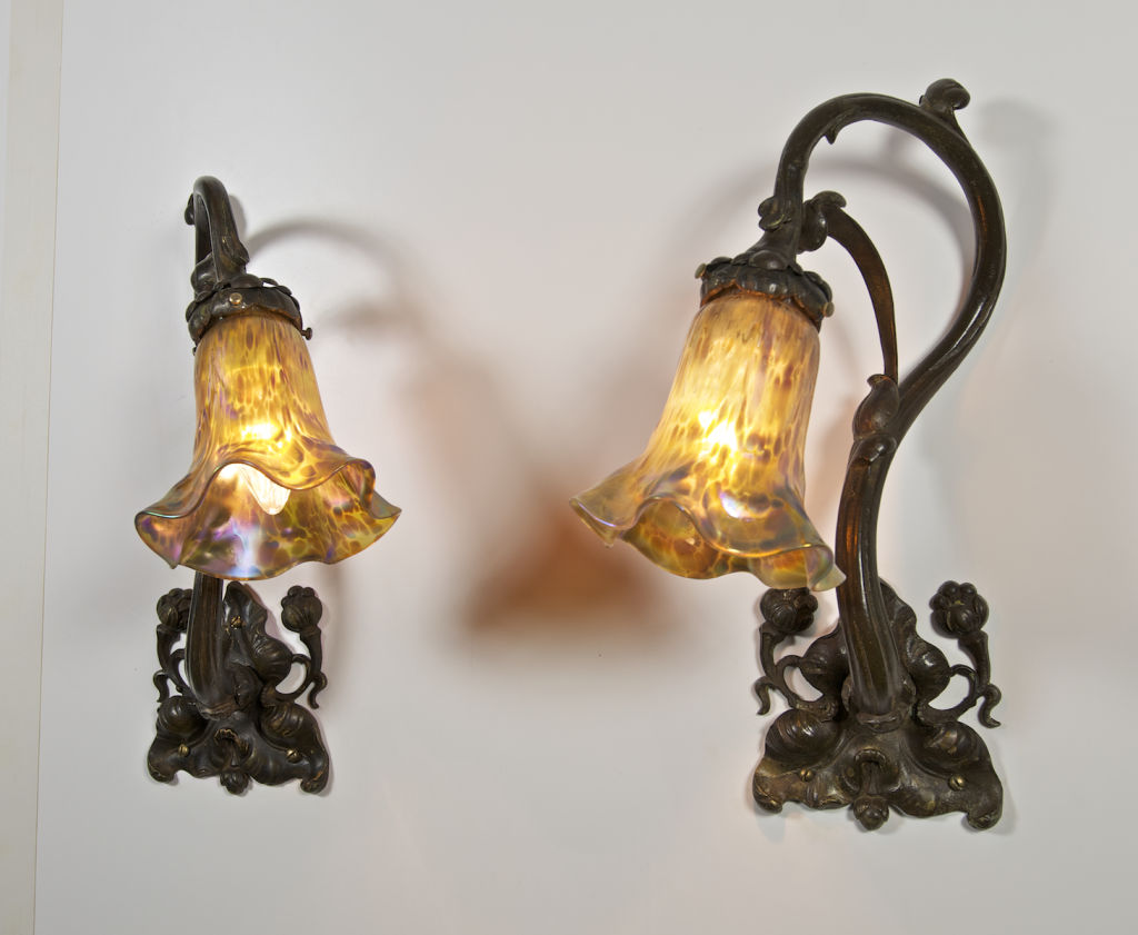 Image of: Beautiful Art Deco Sconces