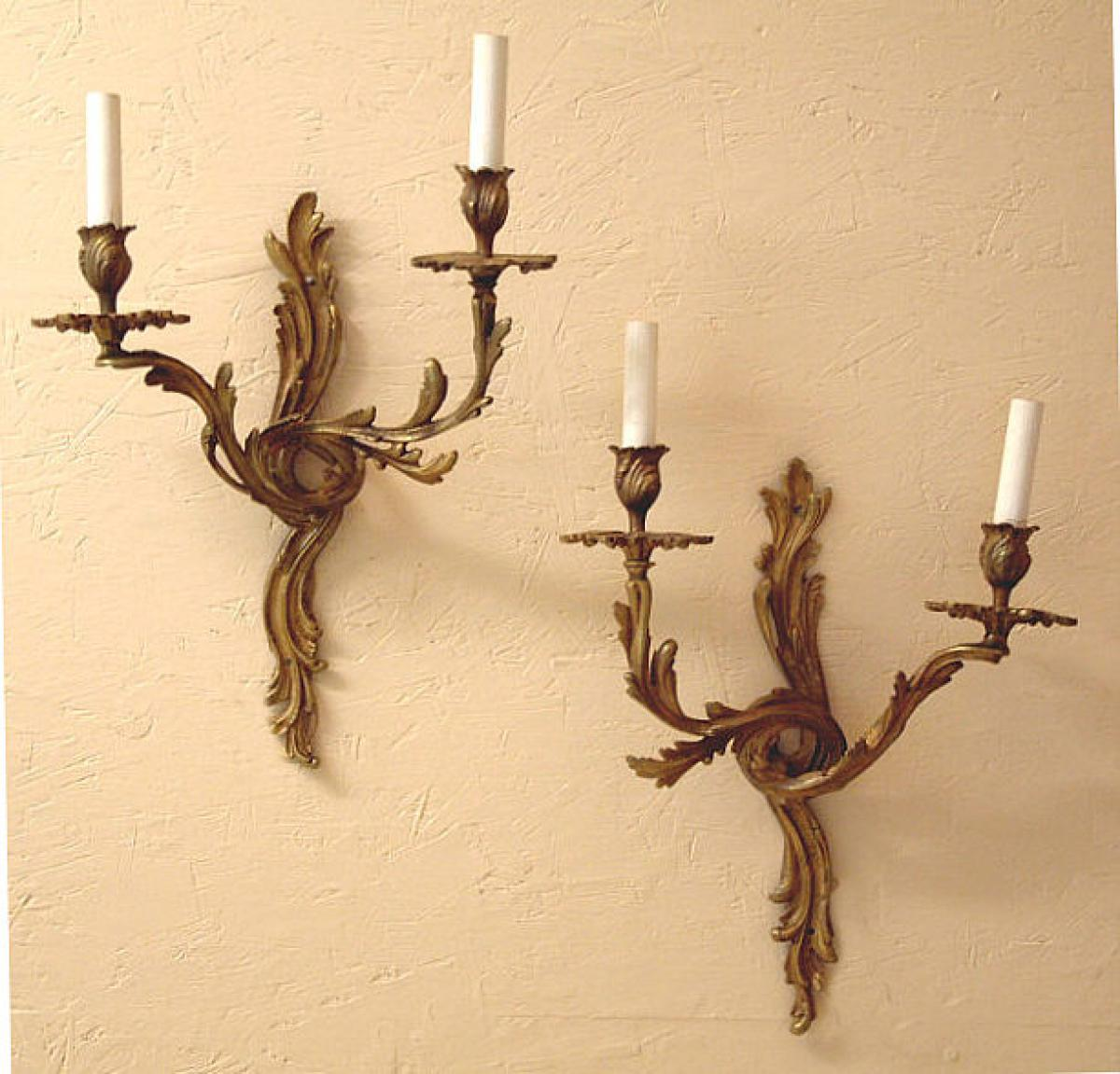 Image of: Beautiful French Sconces