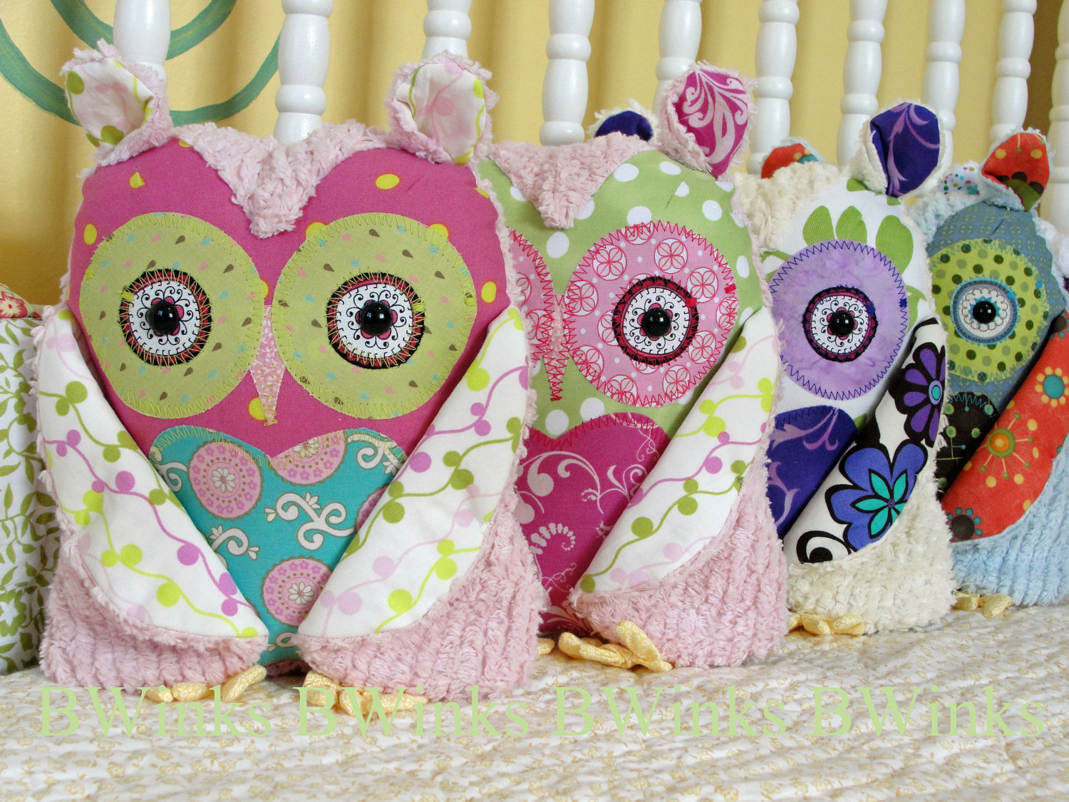 Beautiful Owl Pillow