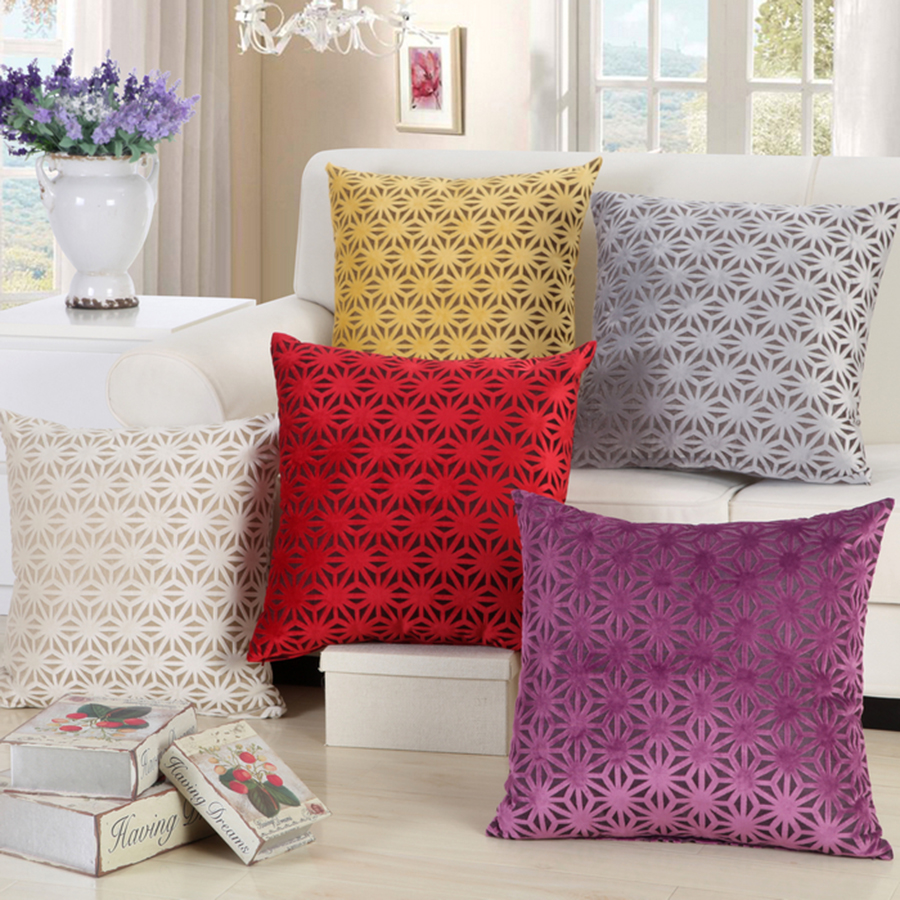 Image of: Beautiful Sofa Pillows