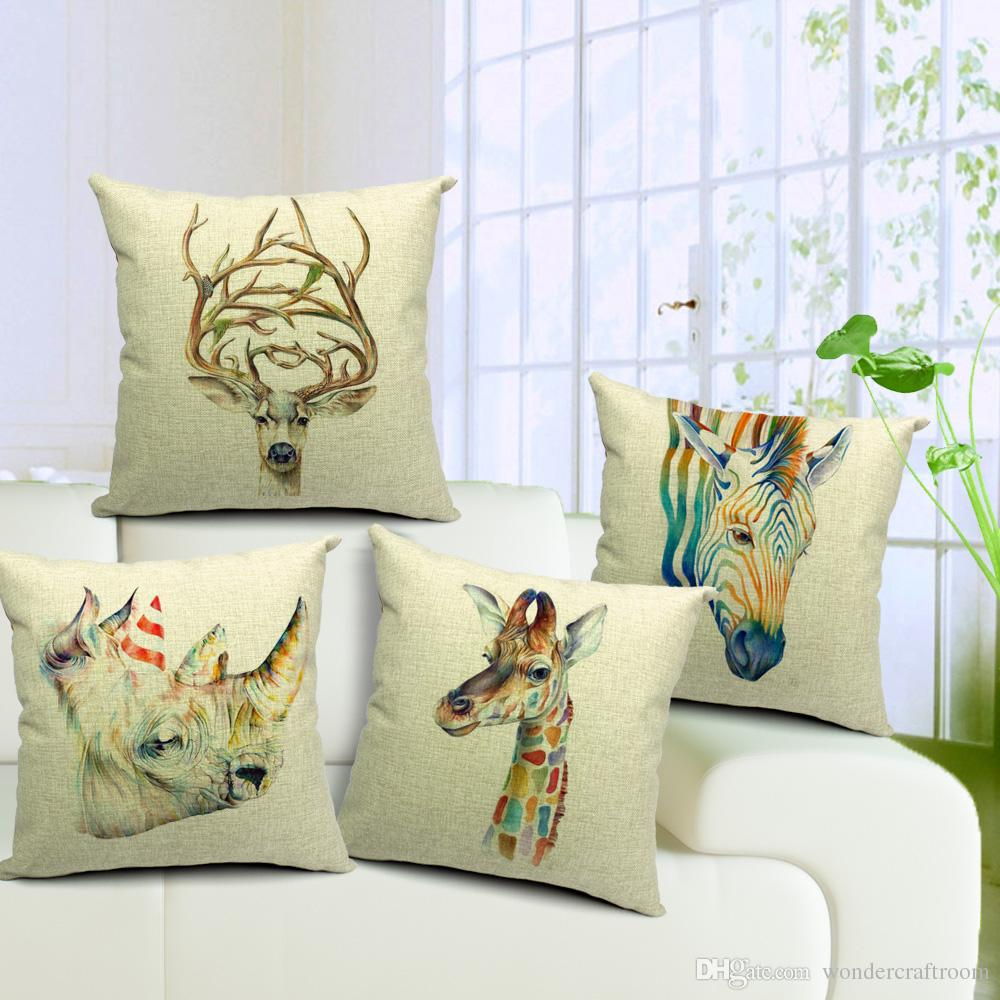Image of: Beautiful Stag Pillow