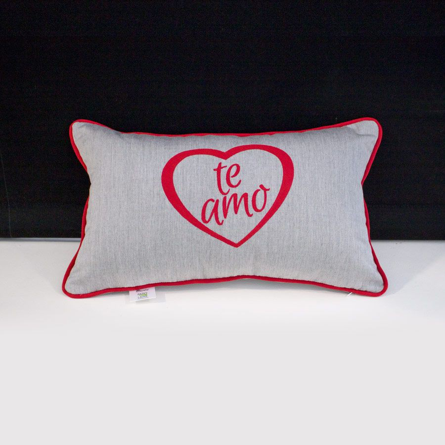 Image of: Beautifull Red And Grey Throw Pillows