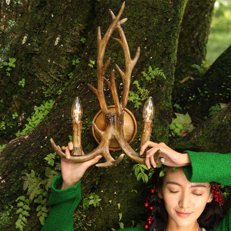 Image of: Best Antler Sconces