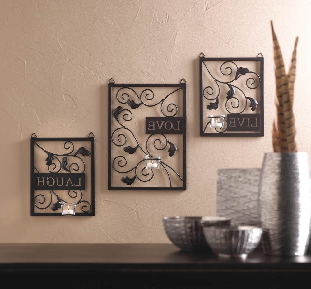 Image of: Best Candle Sconces Wall Decor