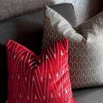 Best Red And Grey Throw Pillows