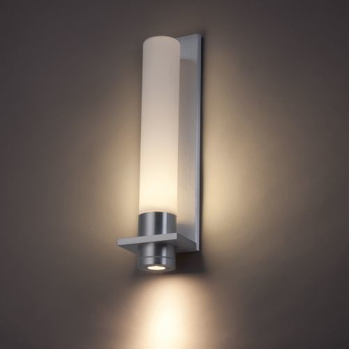 Image of: Black Battery Operated Sconce