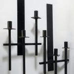 Black Iron Wall Sconces