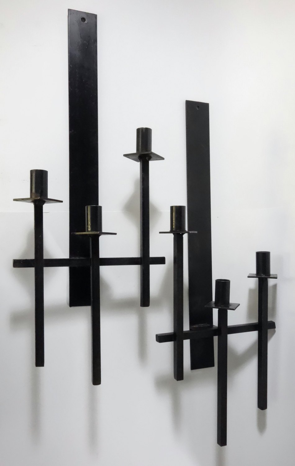 Image of: Black Iron Candle Sconce Designs Ideas