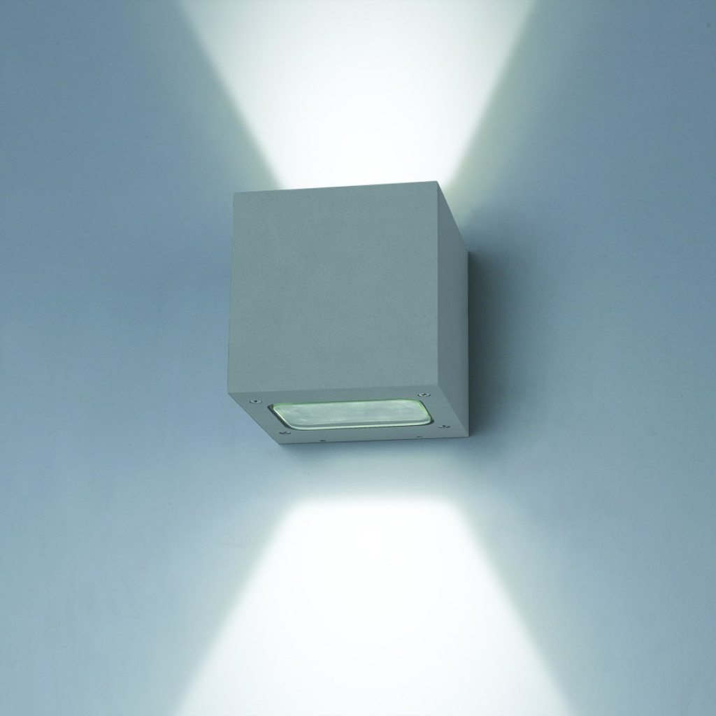Image of: Box LED Sconce Indoor