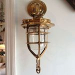 Brass Lantern Sconce Indoor