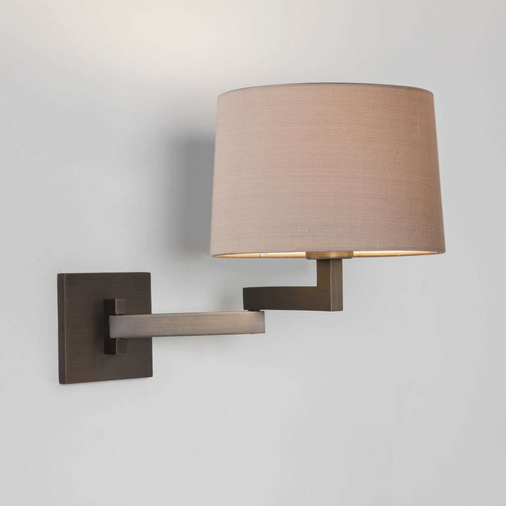 Image of: Brass Swing Arm Sconce Types