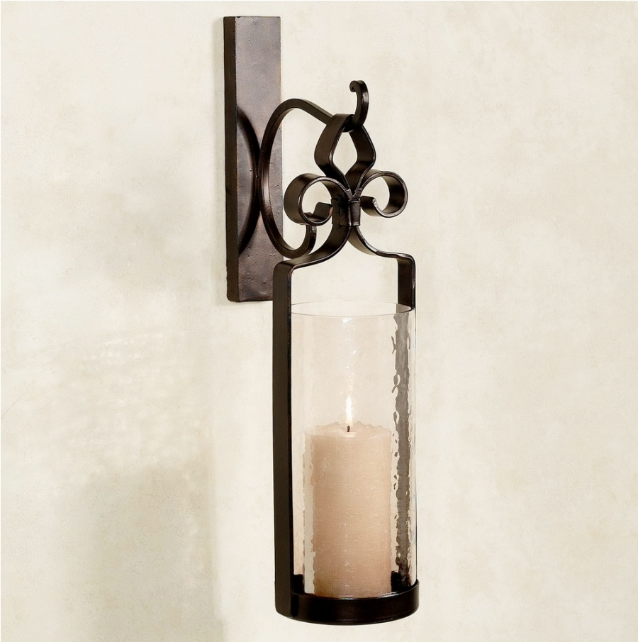 Image of: Bronze Candle Sconces Holder