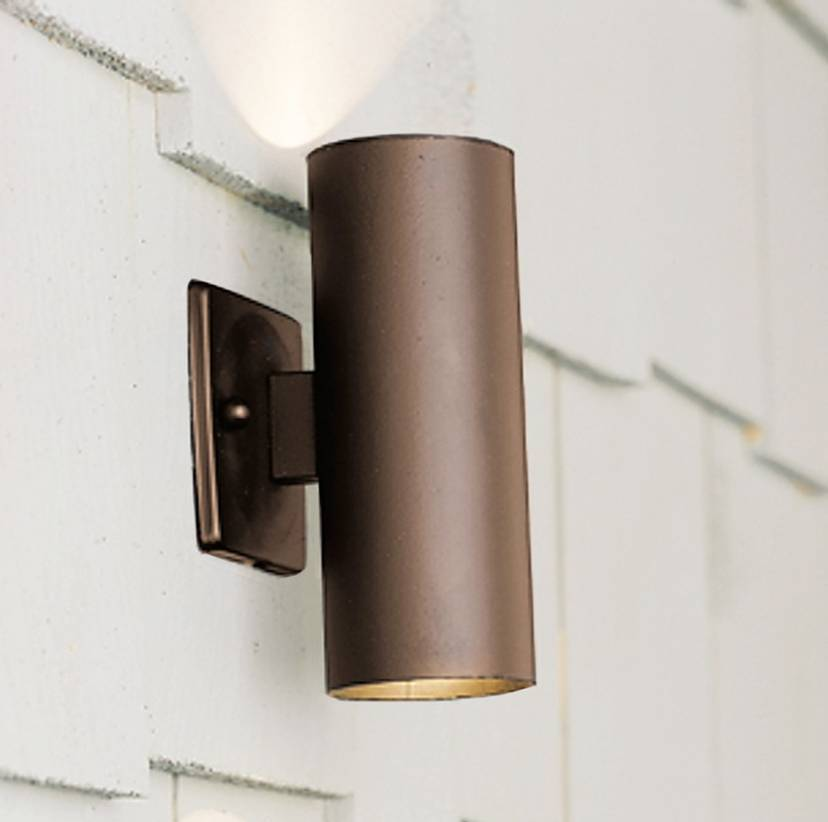 Image of: Bronze Exterior Wall Sconces
