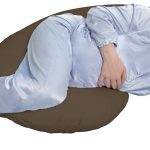 Brown Maternity Body Pillow