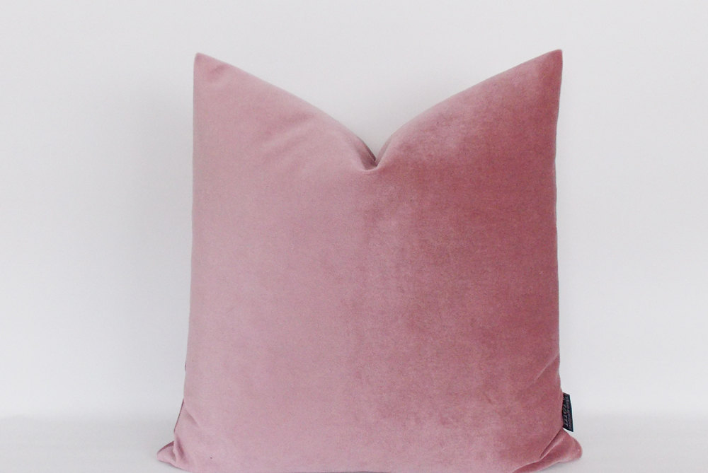 Image of: Brown and Pink Throw Pillows