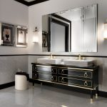 Brushed Nickel Bathroom Sconces Antique Nickel