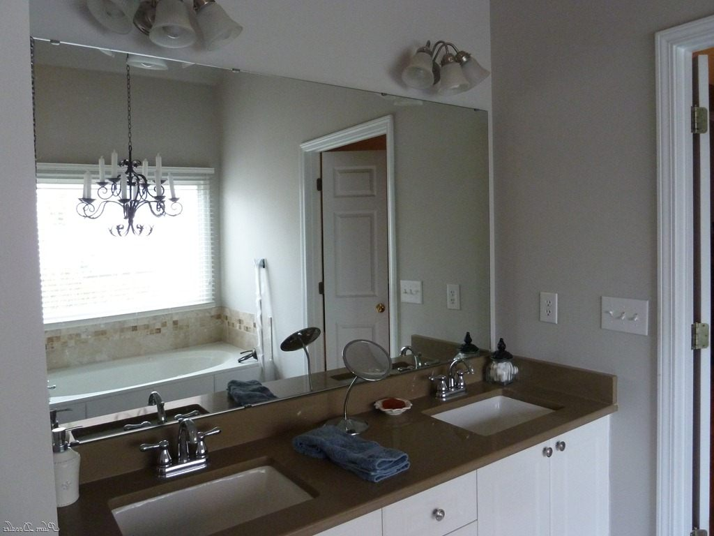 Image of: Brushed Nickel Bathroom Sconces Polished Nickel