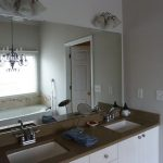 Brushed Nickel Sconces with Candles