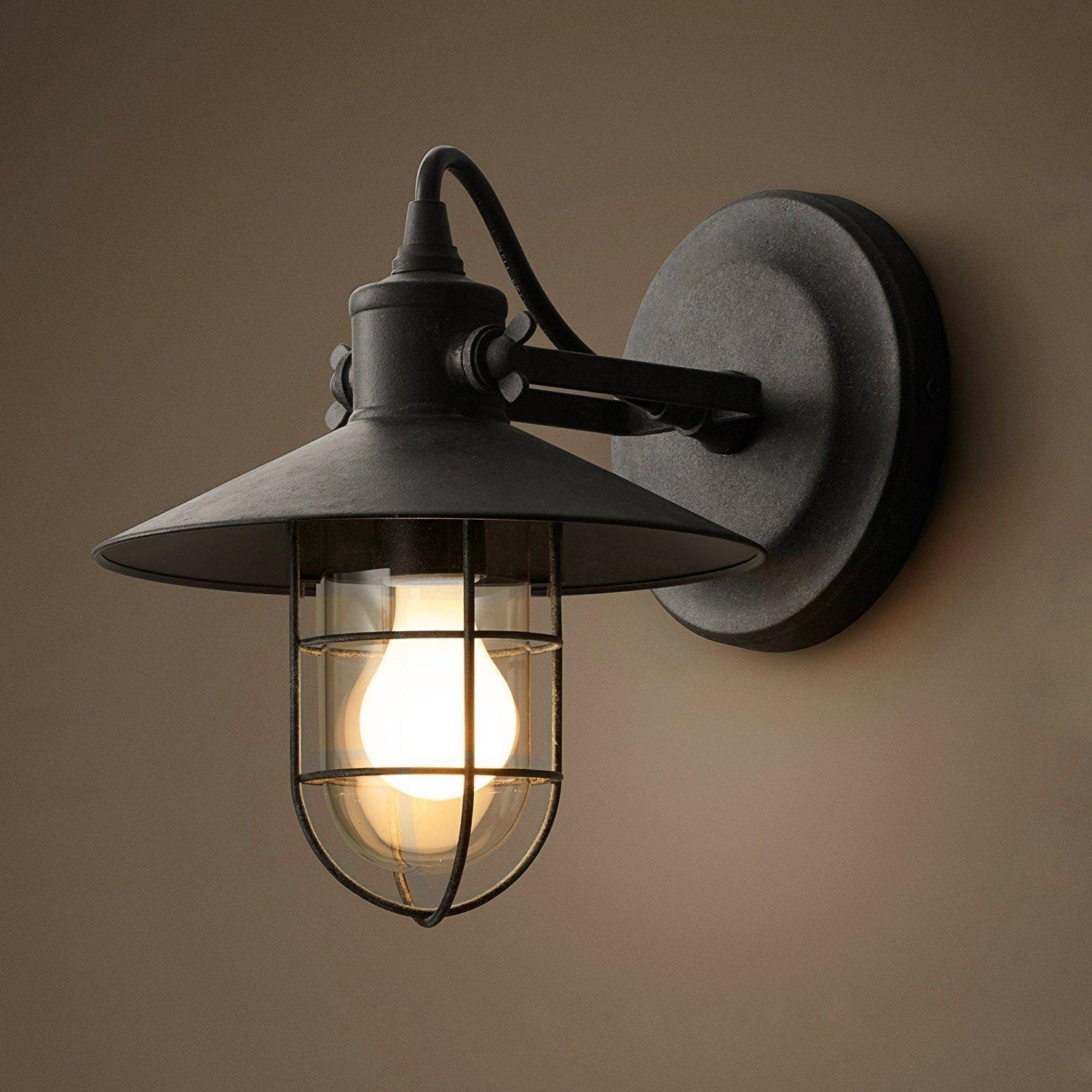 Image of: Cage Wall Sconce Ideas