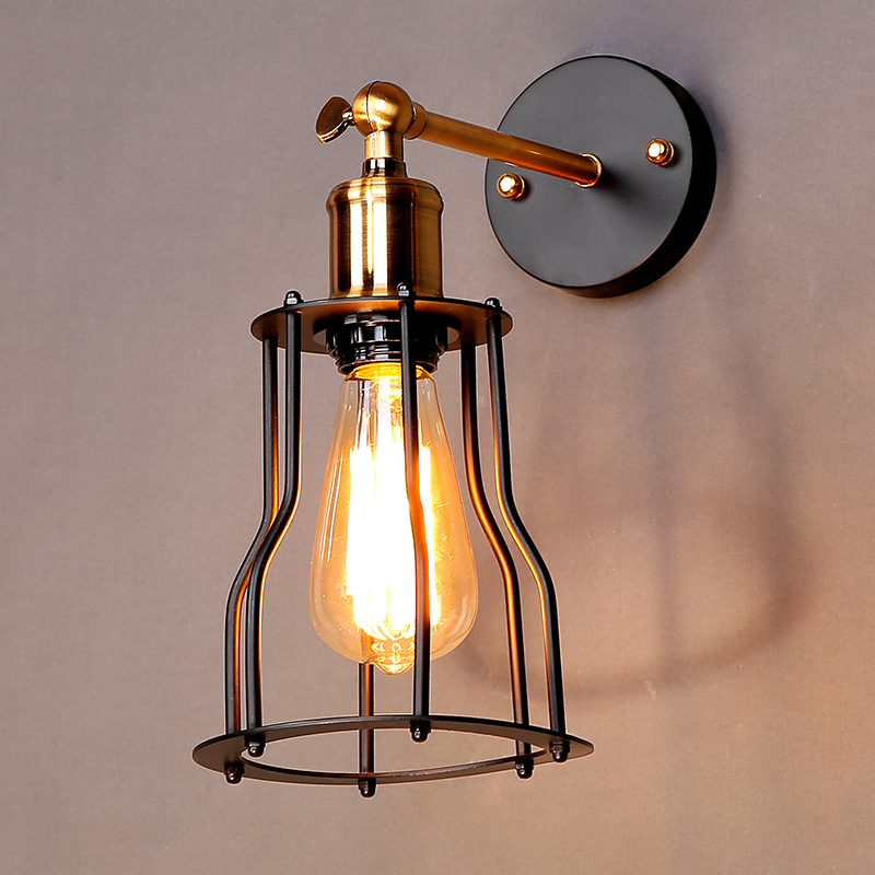 Image of: Cage Wall Sconce Lamps