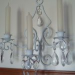 Candle Holder Sconces White