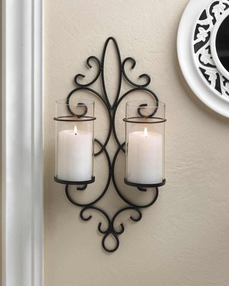 Image of: Candle Sconces Wall Decor Accessories