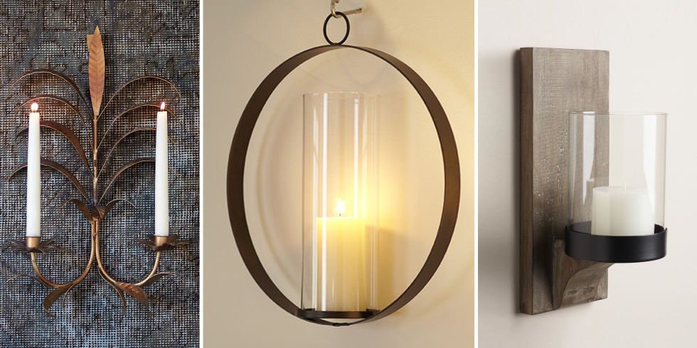 Image of: Candle Sconces Wall Decor Ideas