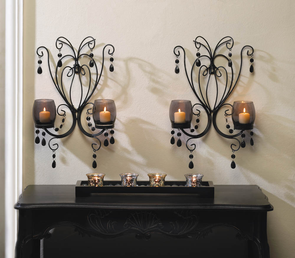 Image of: Candle Sconces for the Wall Contemporary