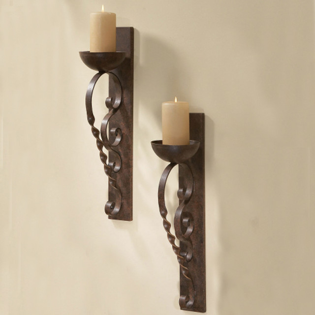 Image of: Candle Sconces for the Wall DIY