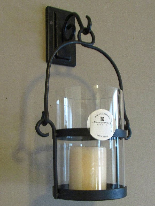 Image of: Cheap Iron Candle Sconce Designs Ideas