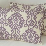 Cheap Purple Lumbar Pillow