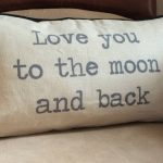 Cheap To The Moon And Back Pillow