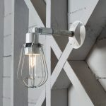 Chrome Exterior Wall Sconces