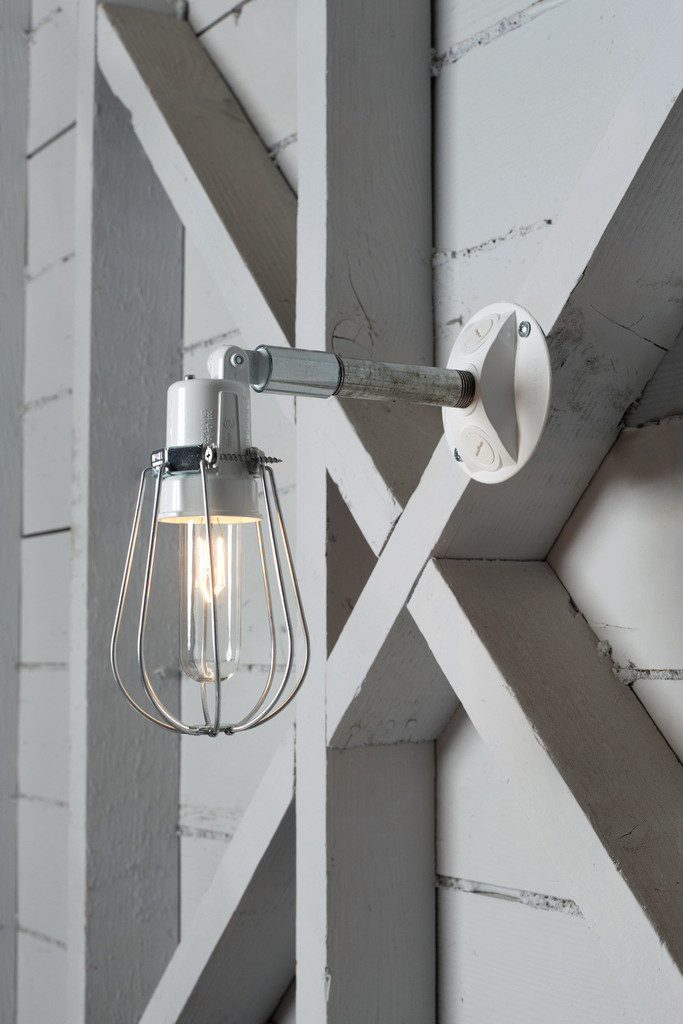 Image of: Chrome Exterior Wall Sconces