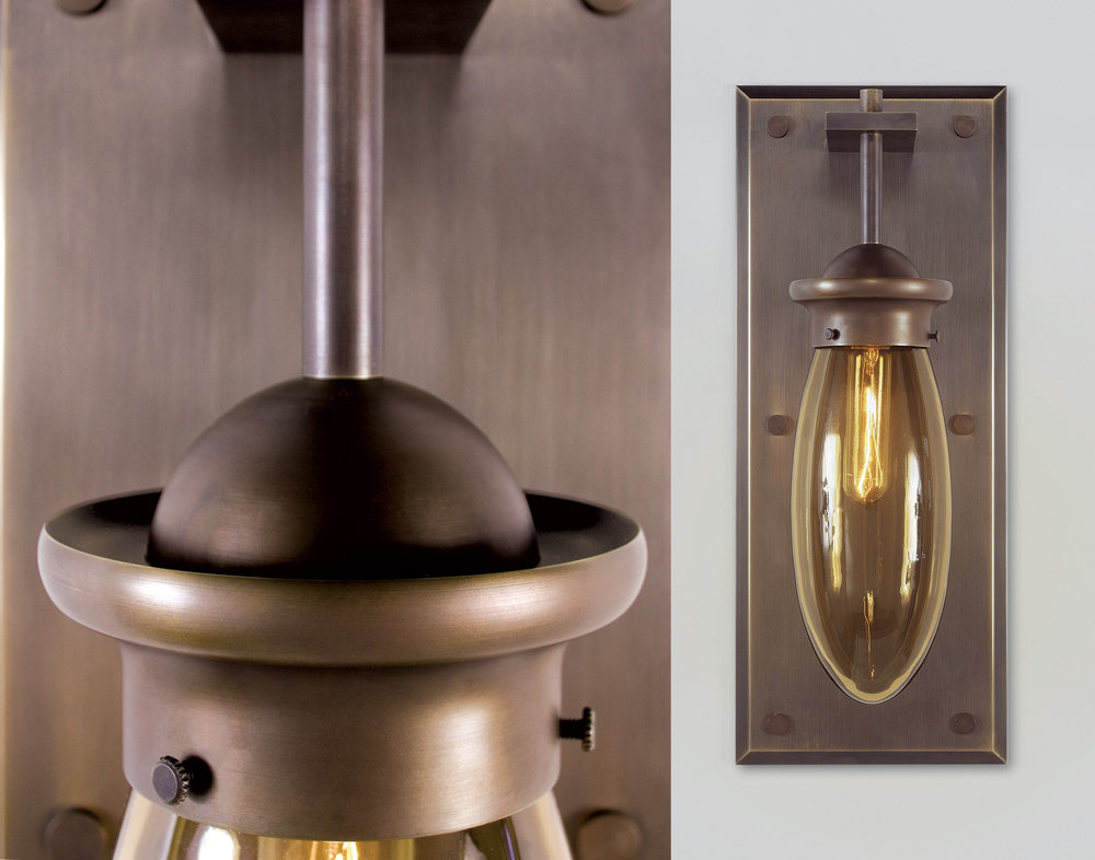 Image of: Classic Industrial Sconce Lighting