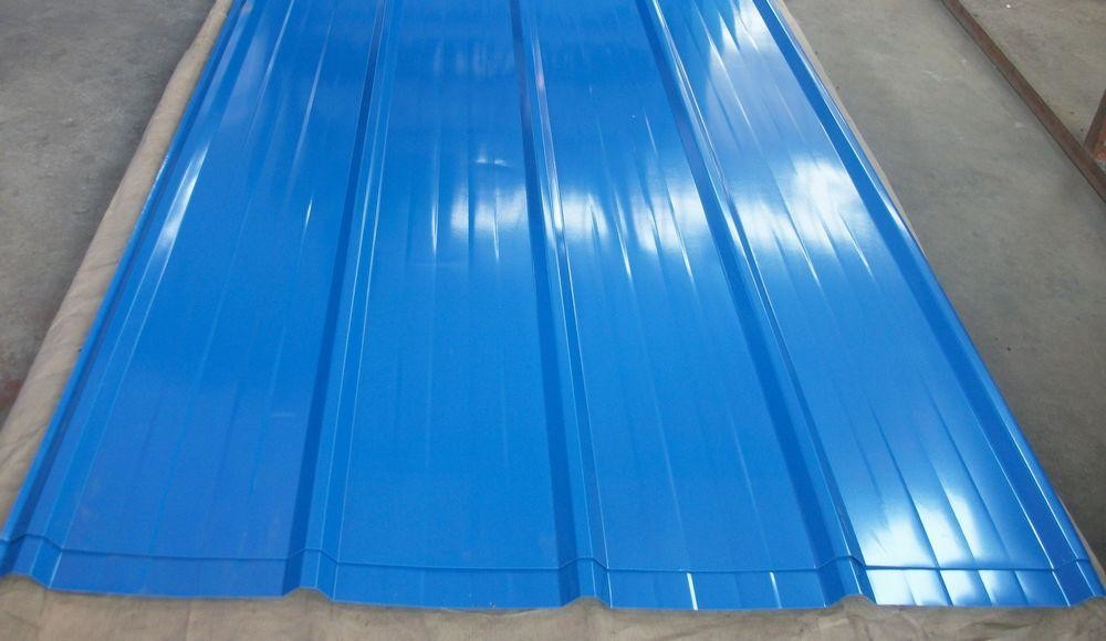 Image of: Coated Corrugated Aluminum Roofing