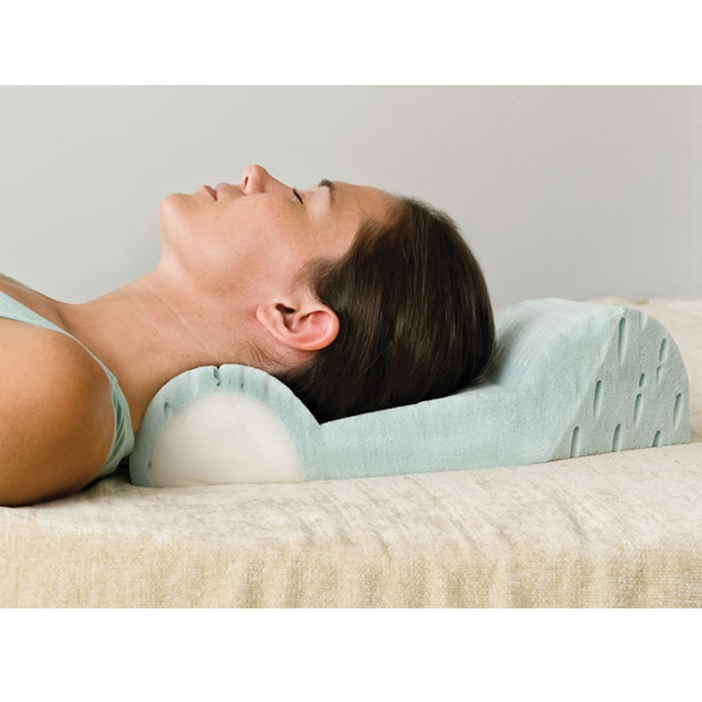 Image of: Colored Pillow for Neck Pain