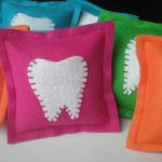 Colour Tooth Fairy Pillow