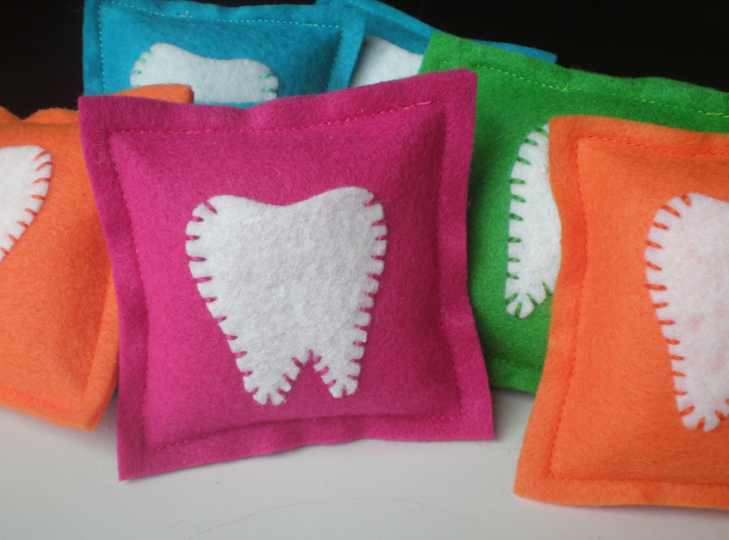 Image of: Colour Tooth Fairy Pillow