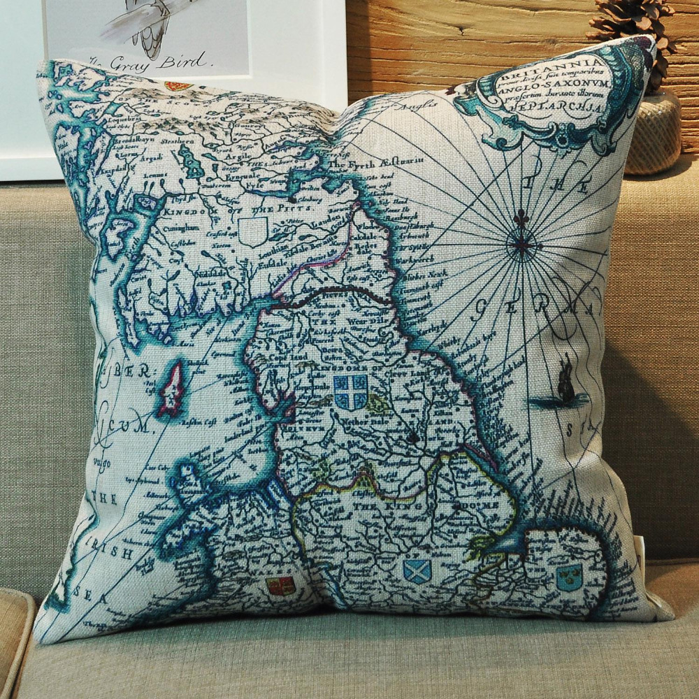 Image of: Compare Nautical Throw Pillows